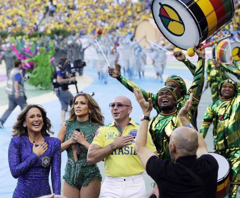 Long-awaited World Cup party starts _lowres