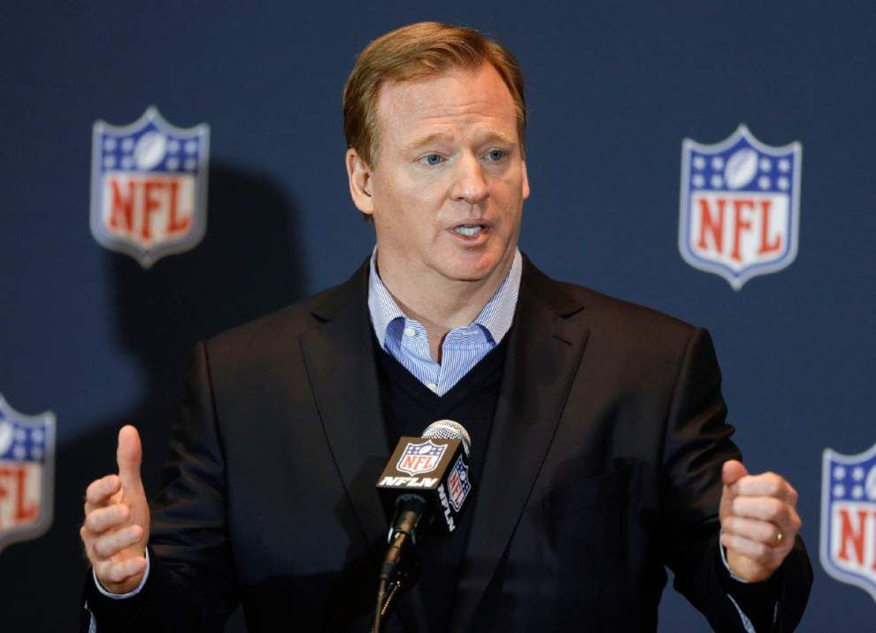 Commissioner Roger Goodell: NFL asked for, didn't get, Rice video _lowres