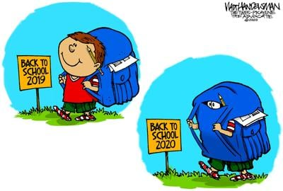 Walt Handelsman: Duck and Cover