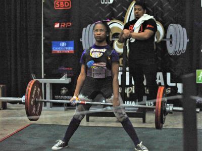 Quamecca Stafford (Lutcher Powerlifting)