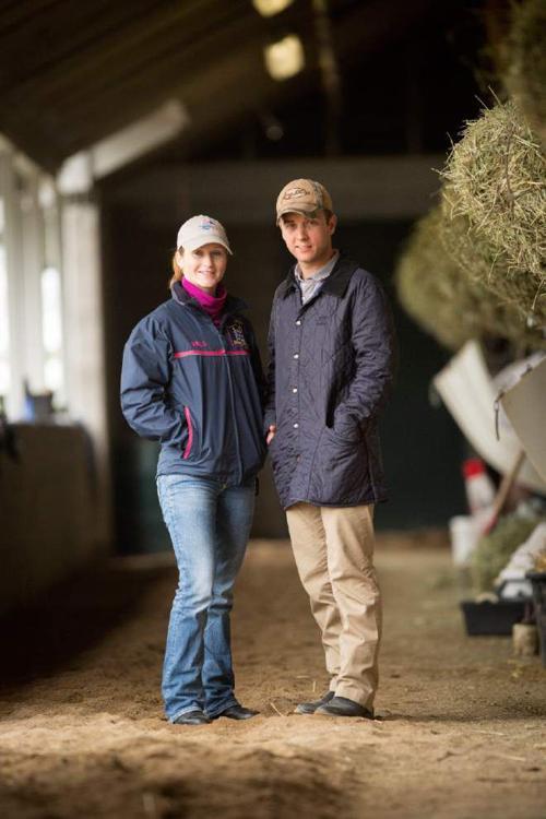 Rosie Napravnik and husband Joe Sharp working together for Derby win _lowres