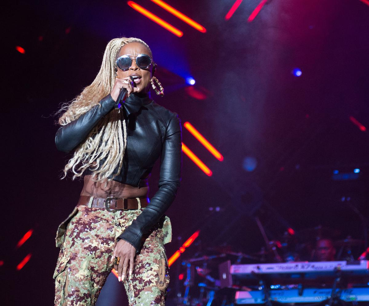 Mary J. Blige at Essence Fest 1 for Red