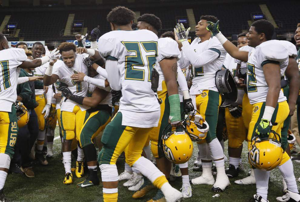 Photos: Check out our best shots from Friday's LHSAA select title games from Mercedes-Benz Superdome _lowres