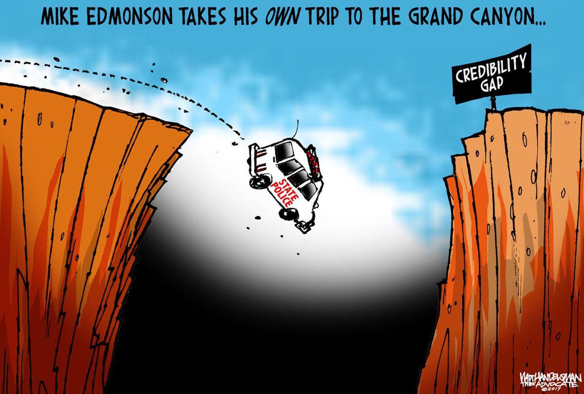 Walt Handelsman: Credibility Gap