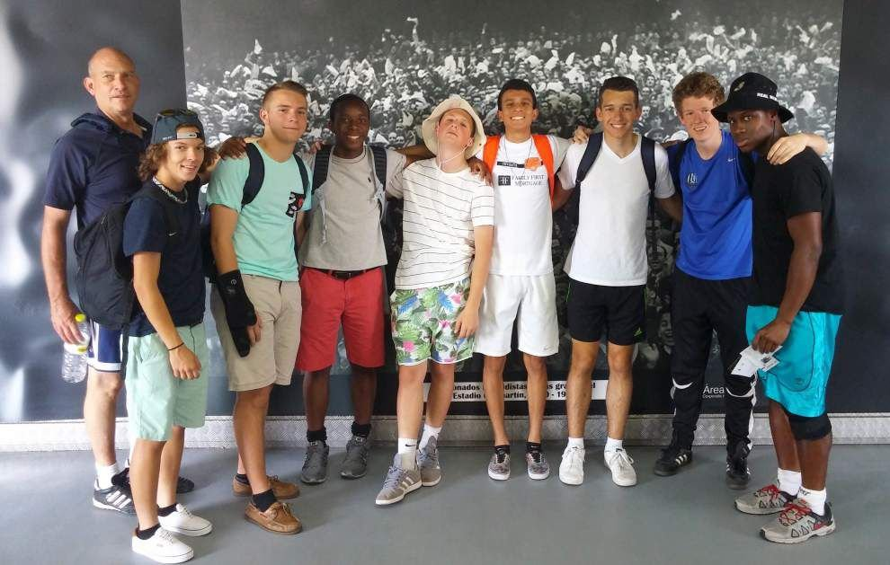 De La Salle players gain perspective on soccer during trip to Spain _lowres