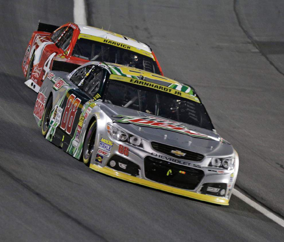 Kevin Harvick earns third-round berth with win at Charlotte _lowres