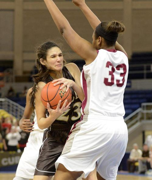 Video: Mount Carmel-Destrehan postgame from the Class 5A girls basketball championship _lowres