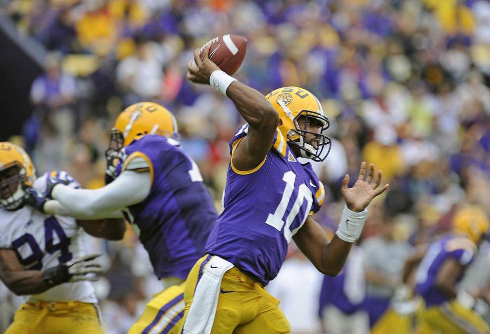 Rabalais: Seeking white smoke as LSU's lack of QB clarity drags on _lowres