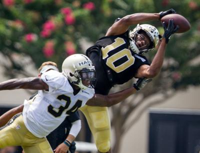 27d636b9 Saints might have something special in eye-popping wide receiver Tre'Quan  Smith if .