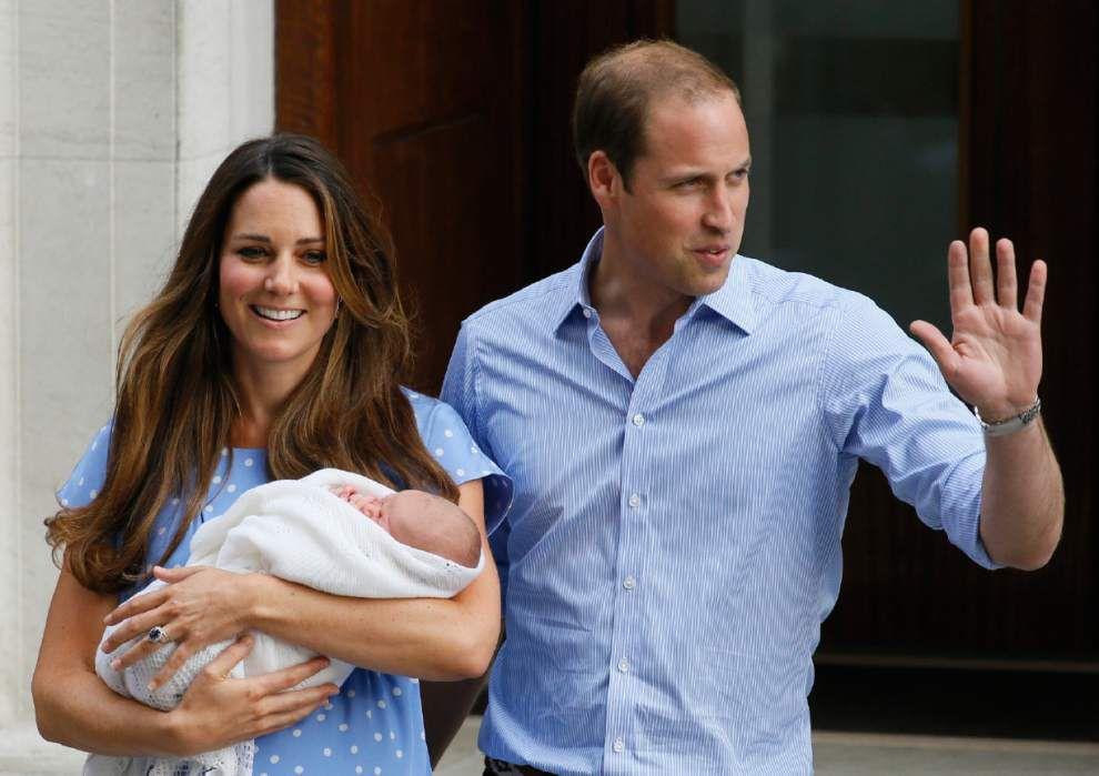 Big milestone for Britain's little prince _lowres