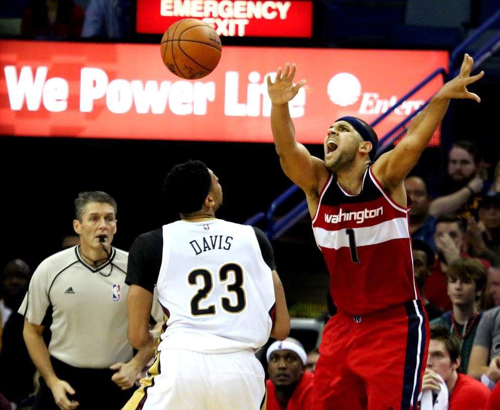 Pelicans clip Wizards _lowres