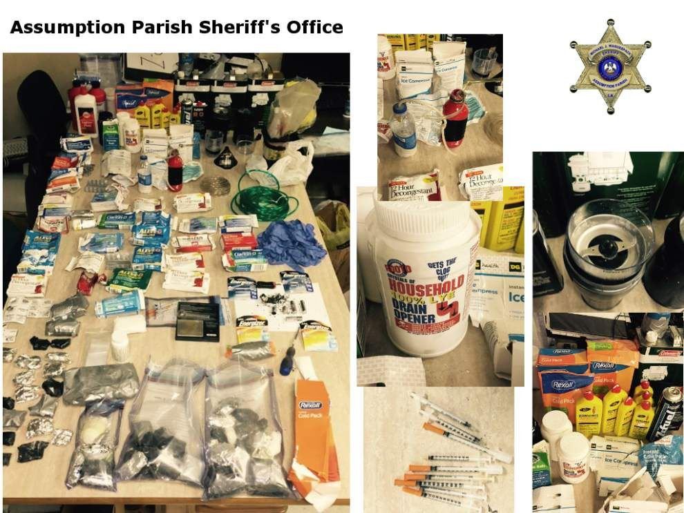 Assumption sheriff: Deputies find meth in house; materials to package drug to sell found hidden in walls, attic _lowres