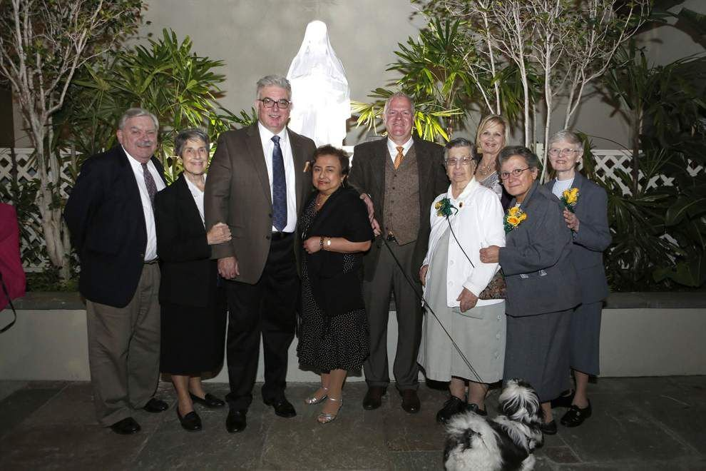 Cabrini High School holds reception at original orphanage site _lowres