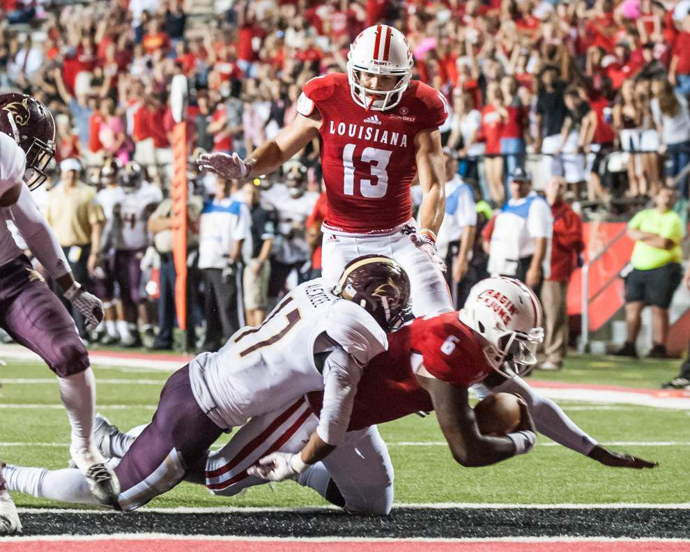 'A great shot in the arm at the right time' — UL-Lafayette beats Texas State 49-27 in its Sun Belt opener _lowres