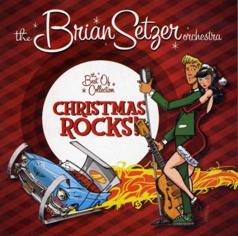 "Brian Setzer's ""Christmas Rocks! Tour"" to play the Saenger _lowres"