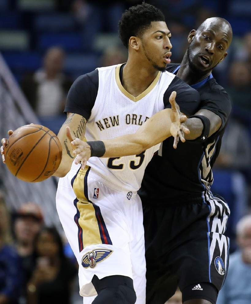 Pelicans rally past Timberwolves 114-99 _lowres