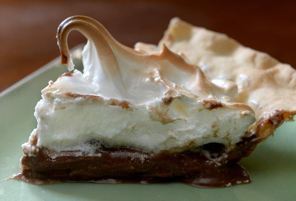 Gourmet Galley: This trio of chocolate pies is hard to beat _lowres