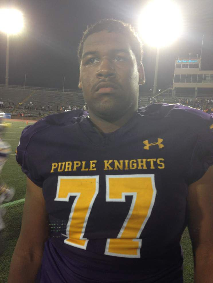 A few minutes with ... St. Aug defensive lineman D'Andre Christmas-Giles _lowres