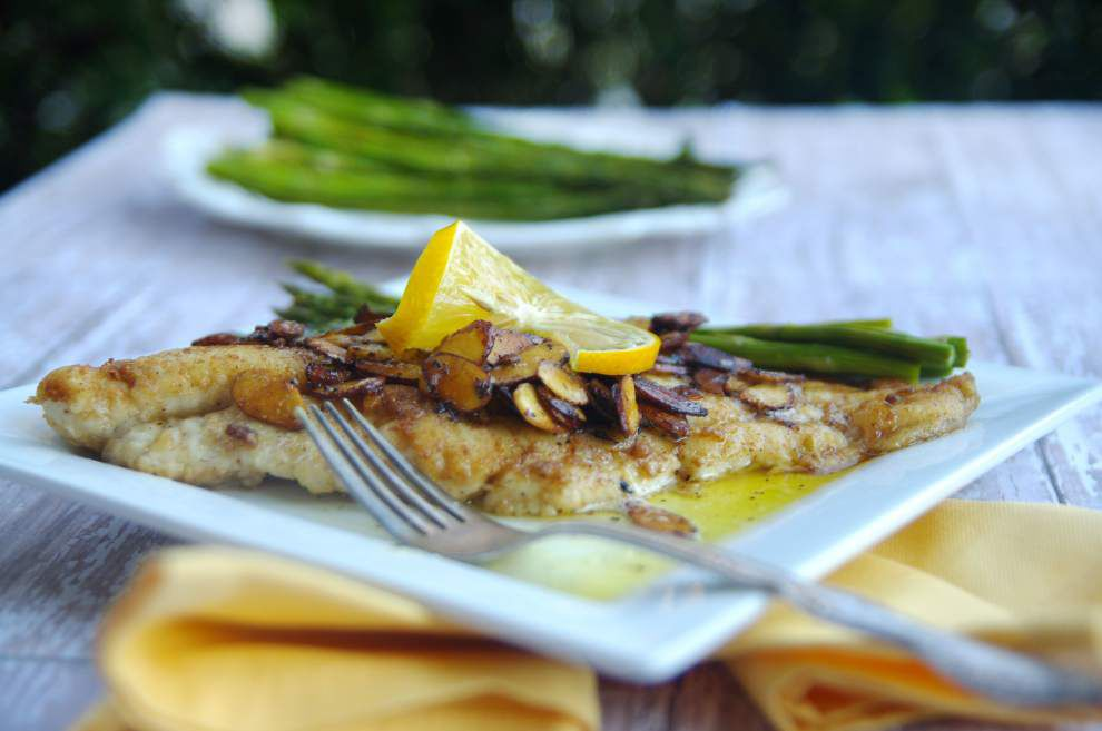 I Eat La.: Catfish almondine is a great fast fix for Lenten Friday nights _lowres