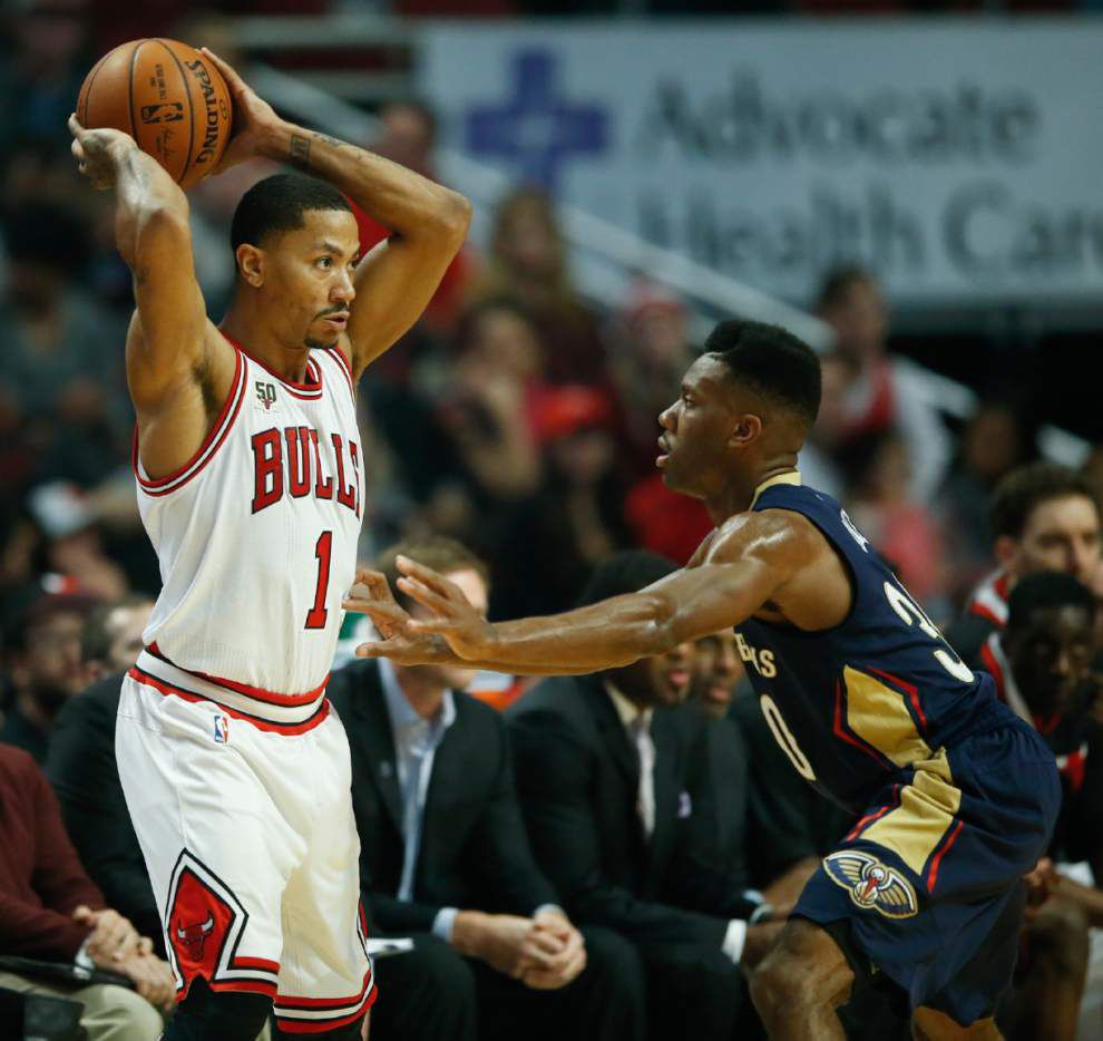 Bulls rally past Pelicans in the fourth quarter for 98-94 win _lowres