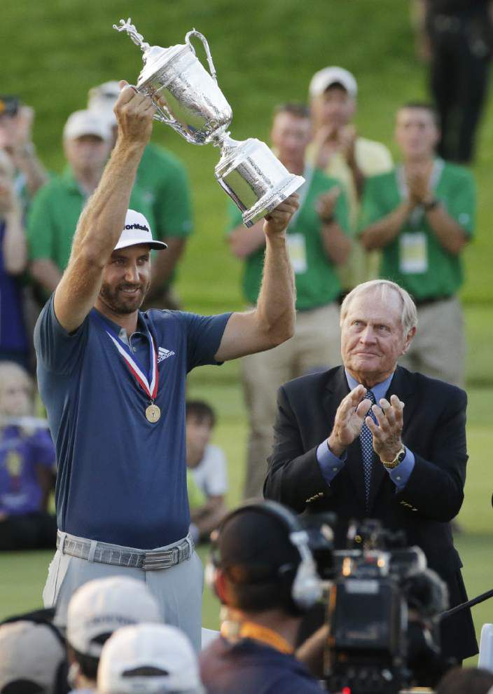 Dustin time: Johnson shakes off penalty drama to claim the U.S. Open crown _lowres