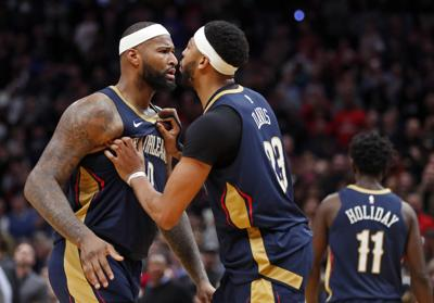 dd4f72af0 Anthony Davis  a little shocked  by DeMarcus Cousins