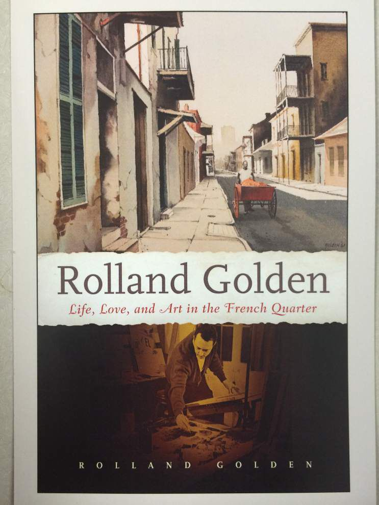 Artist Rolland Golden shares Quarter tales, fresh reads on his life's work _lowres