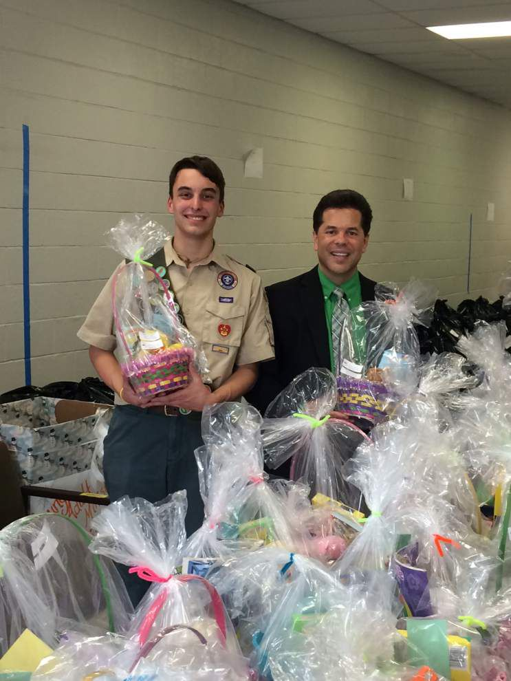 Eagle Scout's project results in 333 Easter baskets _lowres