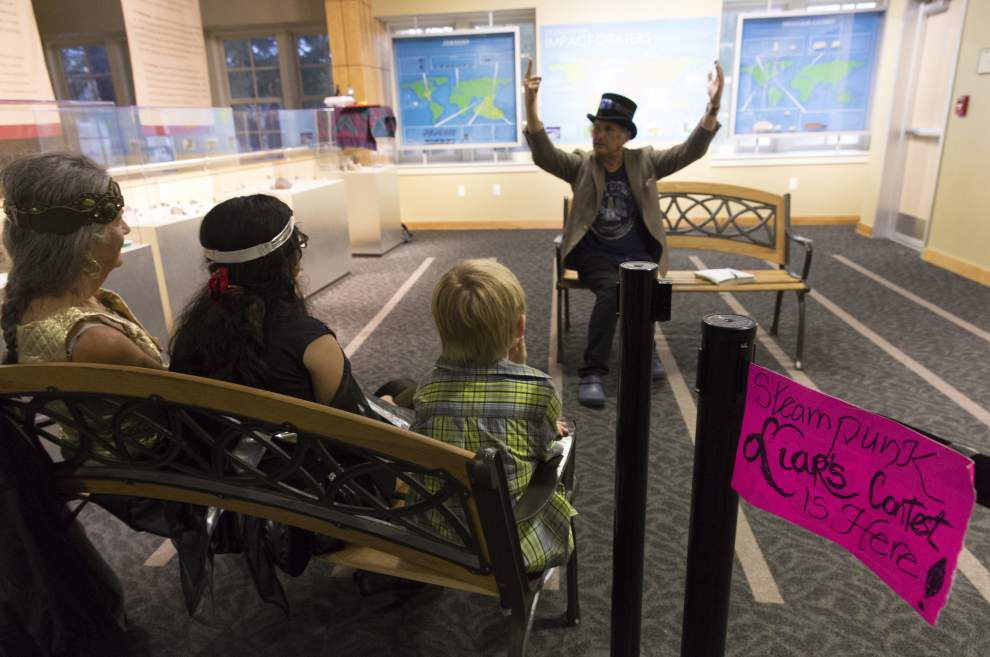 'Steampunk' brings Jules Verne version of science fiction to Lafayette Science Museum _lowres