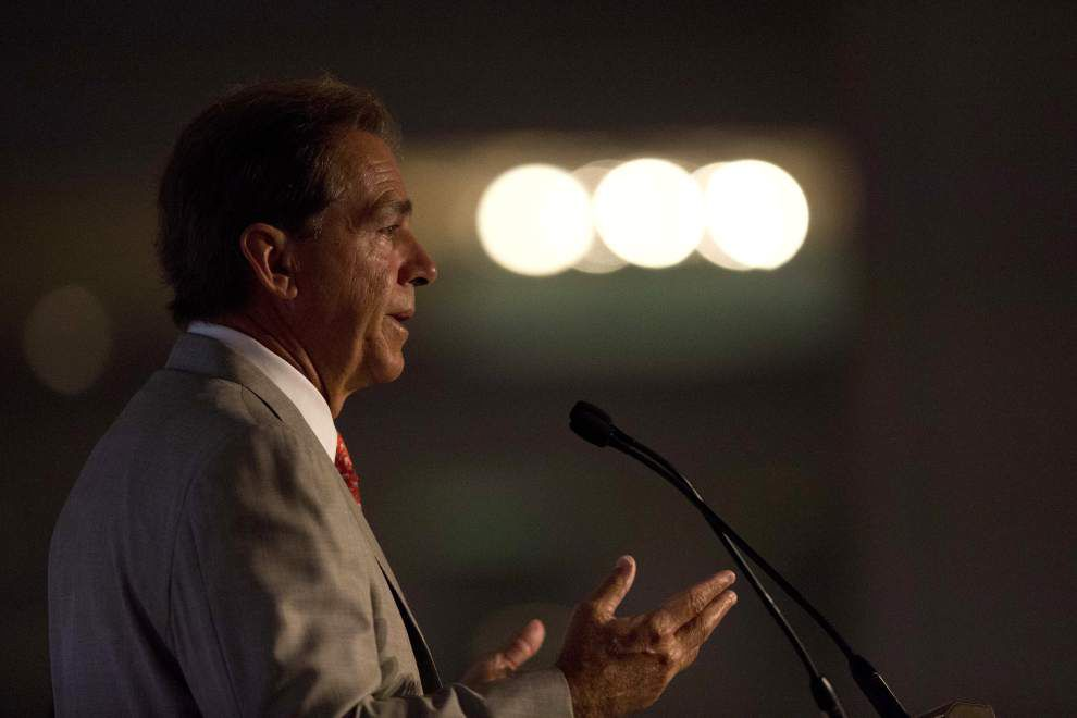 New York Times article reveals indepth 2012 correspondence between key individuals that almost had Alabama coach Nick Saban take job at University of Texas _lowres