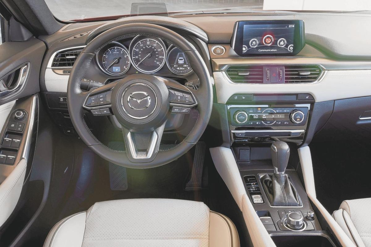 2017 Mazda6 Grand Touring - Interior