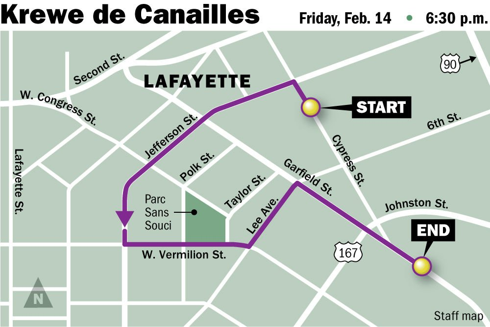 Mardi Gras 2020 See Maps Of Routes Roll Times For Parades In