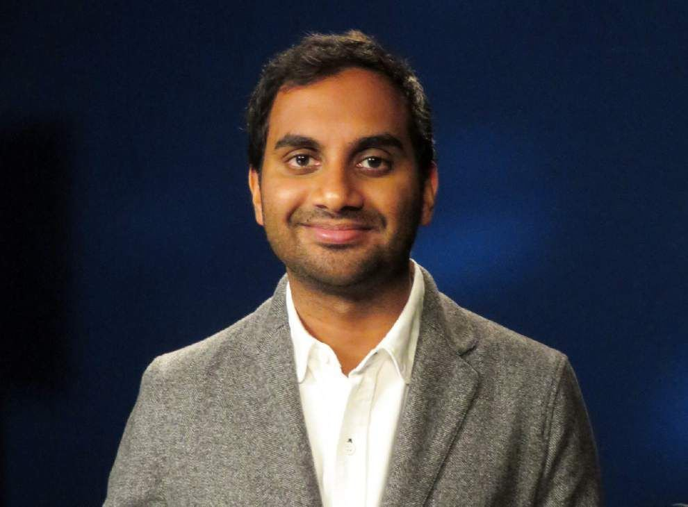 Comedian Aziz Ansari gives Bobby Jindal tips for new campaign slogan on 'Tonight Show with Jimmy Fallon' _lowres