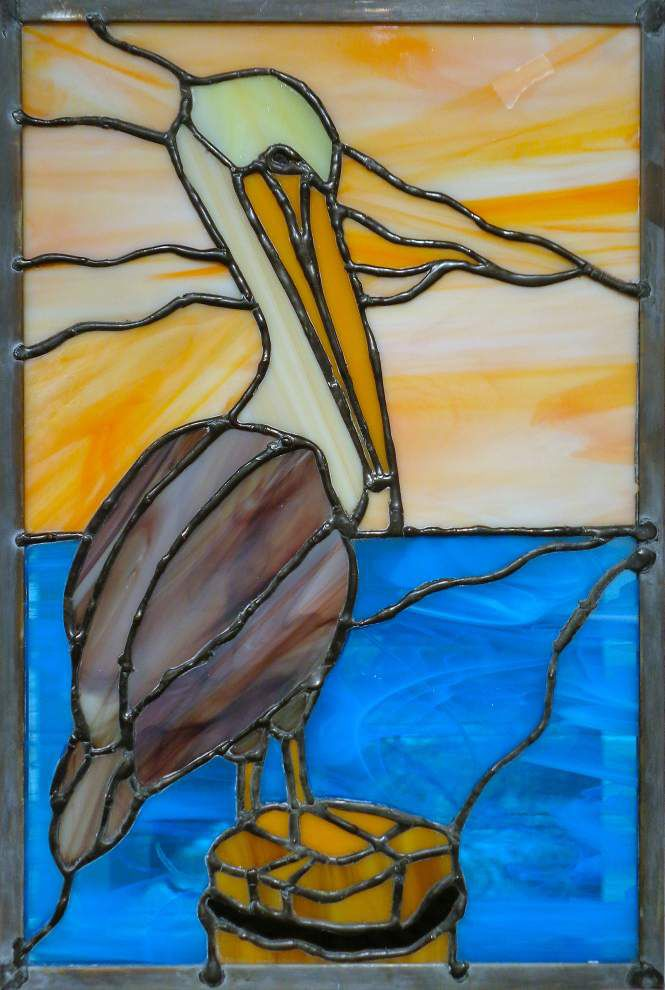 Cultural Collage: Slidell artists take a clear-eyed approach to creating stained glass _lowres