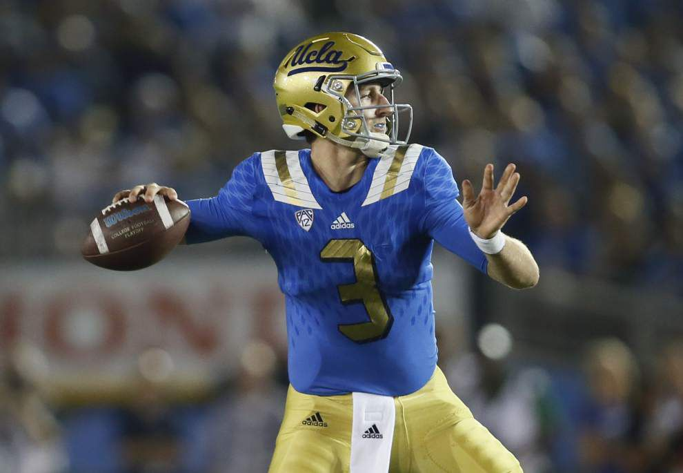 Manning Passing Academy: After his breakthrough freshman season, UCLA's Josh Rosen wants even more as a sophomore _lowres