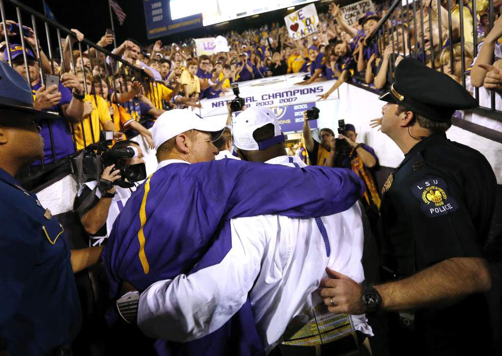 Frank Wilson calls leaving LSU an 'emotional time,' but can't pass on head coaching opportunity _lowres