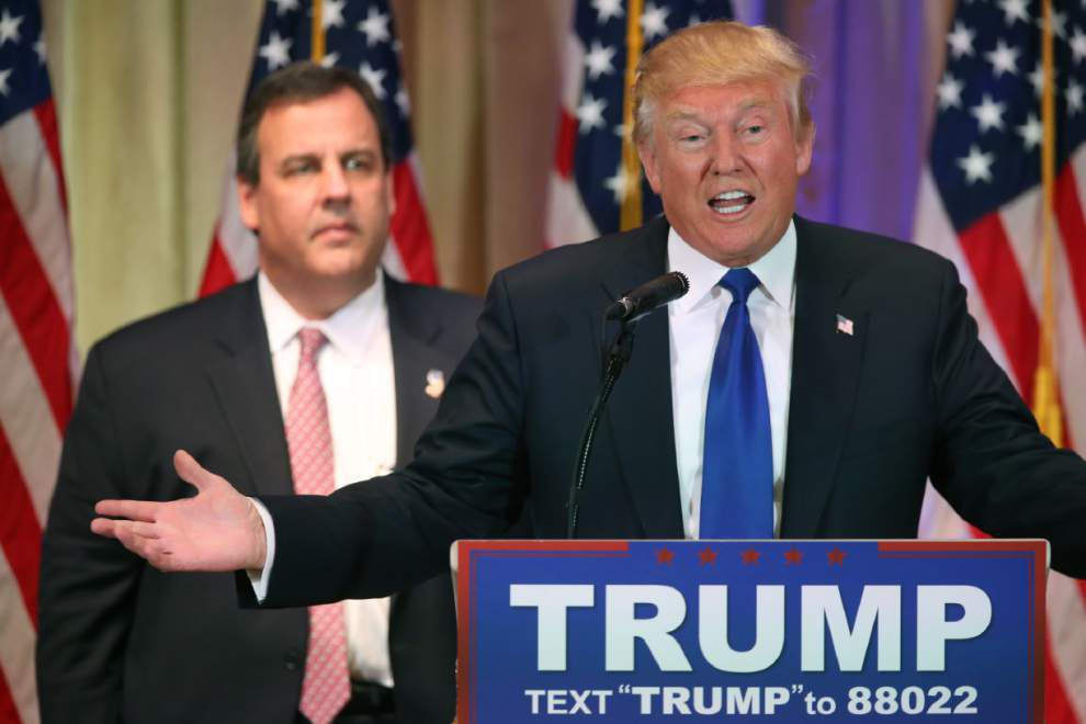 Trump to campaign in Louisiana on Friday; Duke to skip rally _lowres