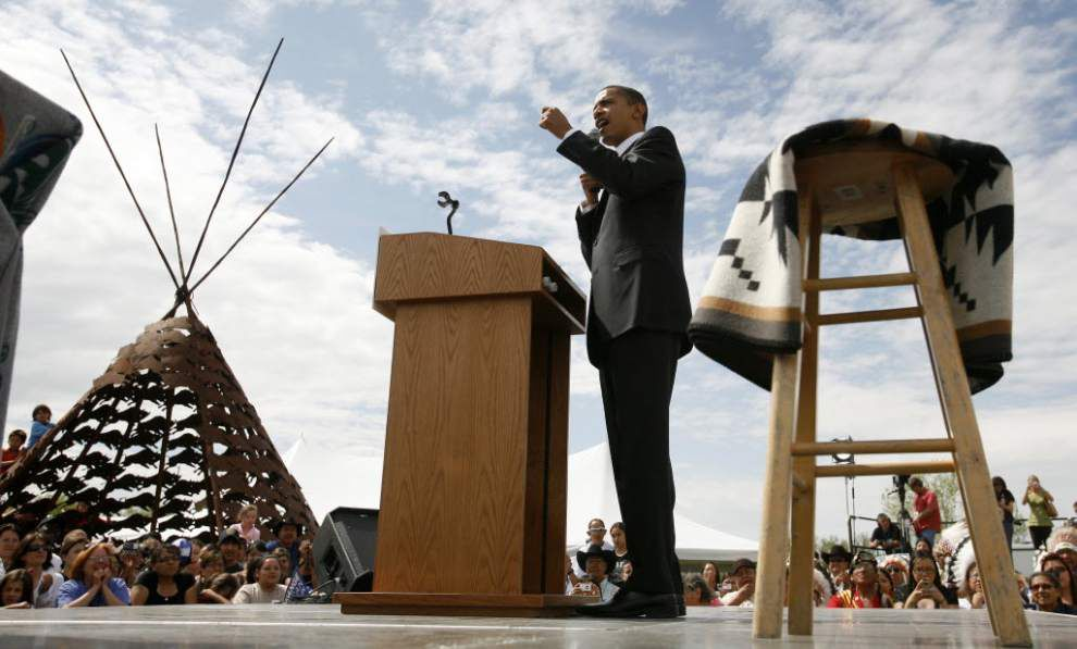 Obama to Indian Country in 1st visit as president _lowres
