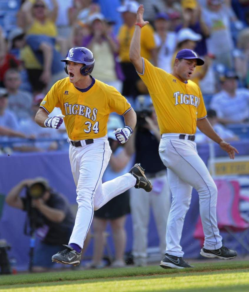 Former LSU slugger Blake Dean says he is 'honored and excited' to be UNO interim coach _lowres