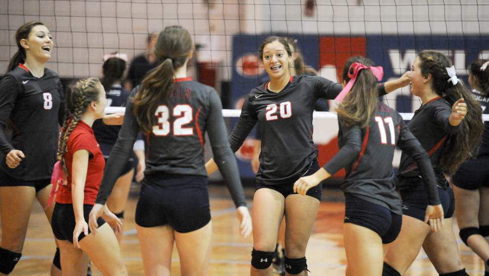 St. Thomas More, Teurlings Catholic land No. 1 seeds in state volleyball tournament _lowres