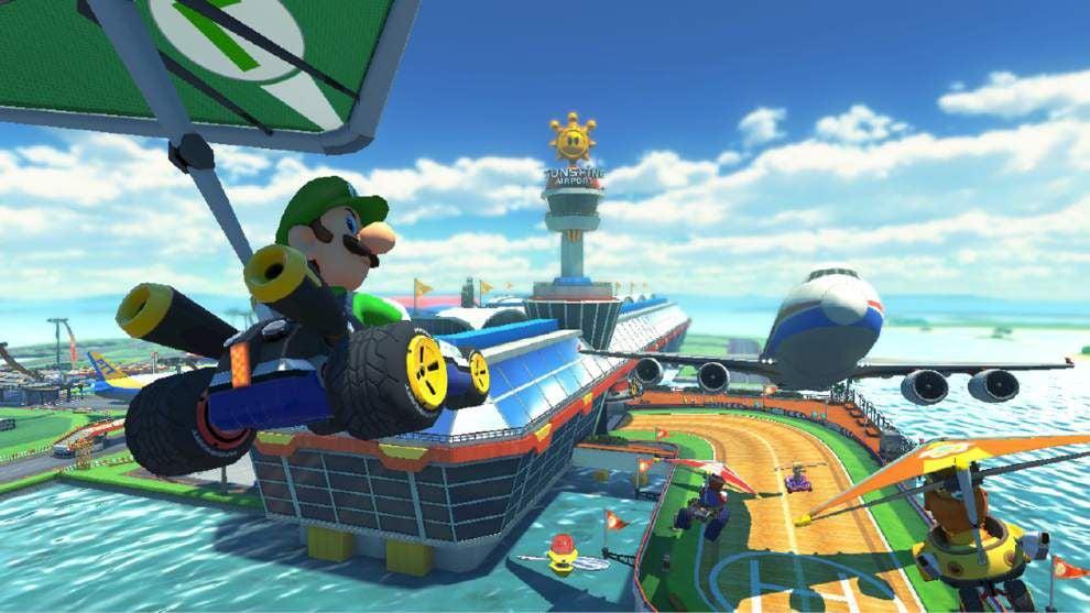 Nintendo's 'Mario Kart 8' defies gravity _lowres
