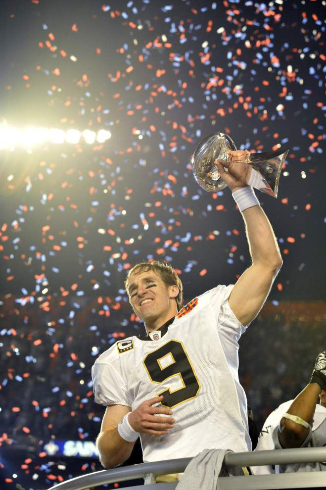 Drew Brees brings hope to Afghanistan War veteran, his best friend in moments when they needed it _lowres