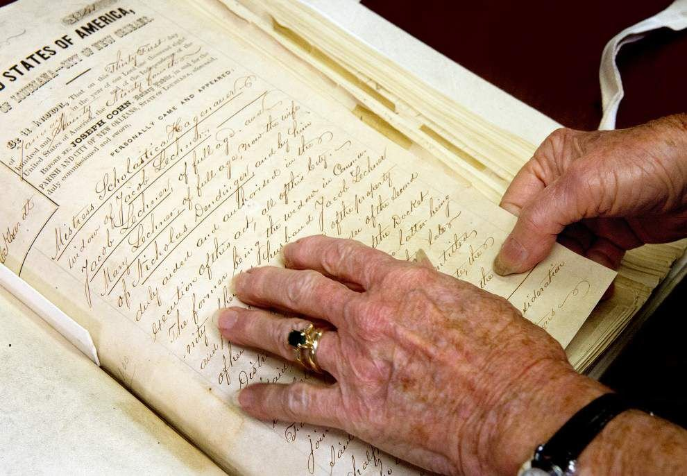 Notarial Archives tell story of New Orleans in thousands of historic documents _lowres