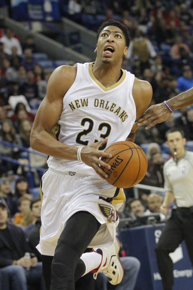 Pelicans star Anthony Davis doesn't make All-Star vote in Western Conference lineup _lowres