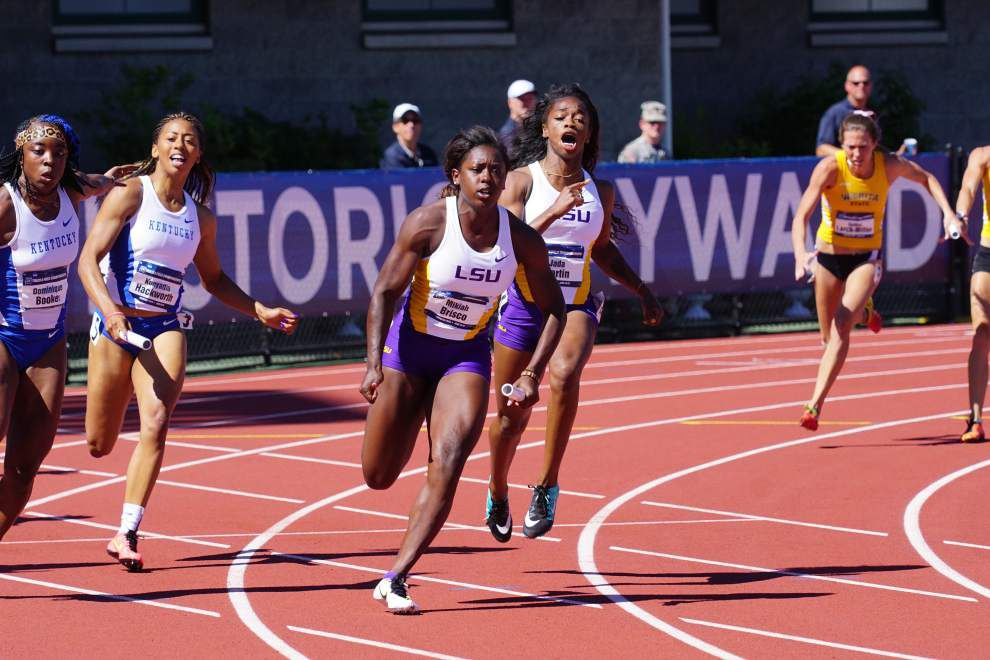 Several Lady Tigers notch personal bests, reach finals of NCAA track championships _lowres