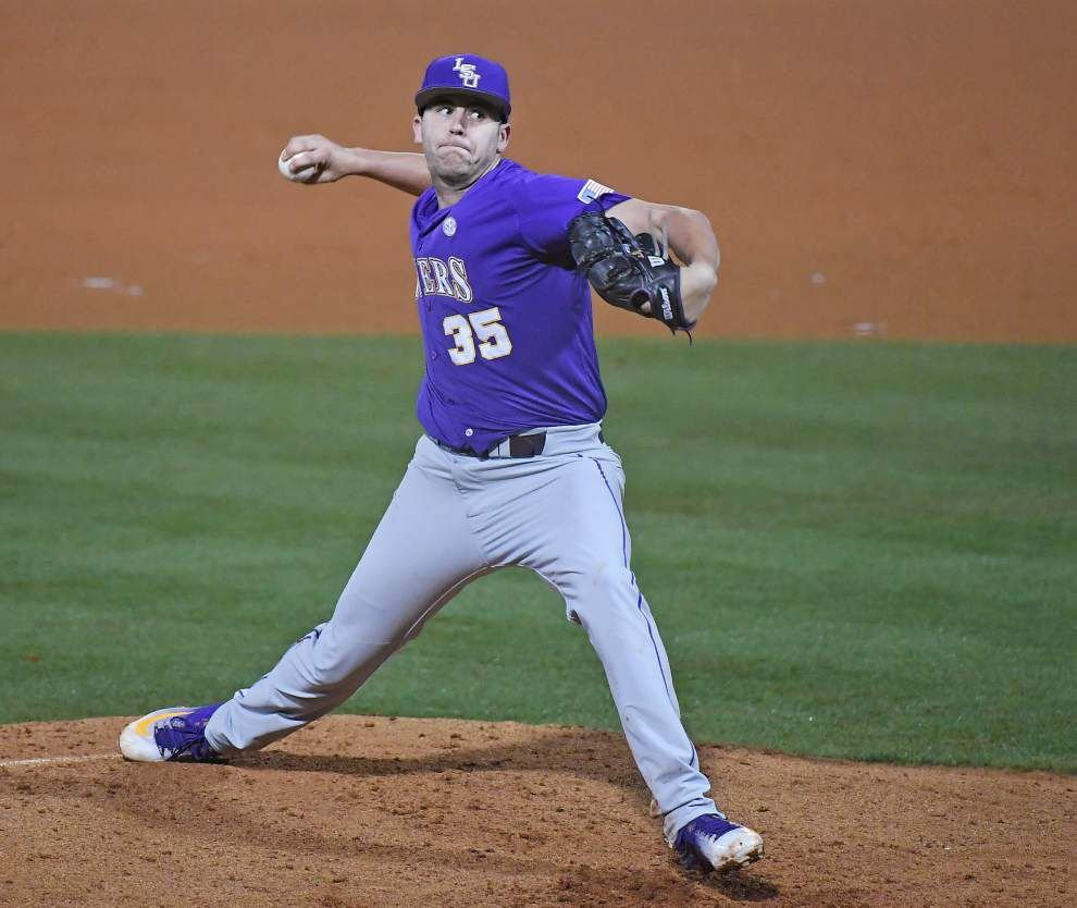 Alex Lange tosses his second straight complete game in 6-3 win against Ole Miss _lowres