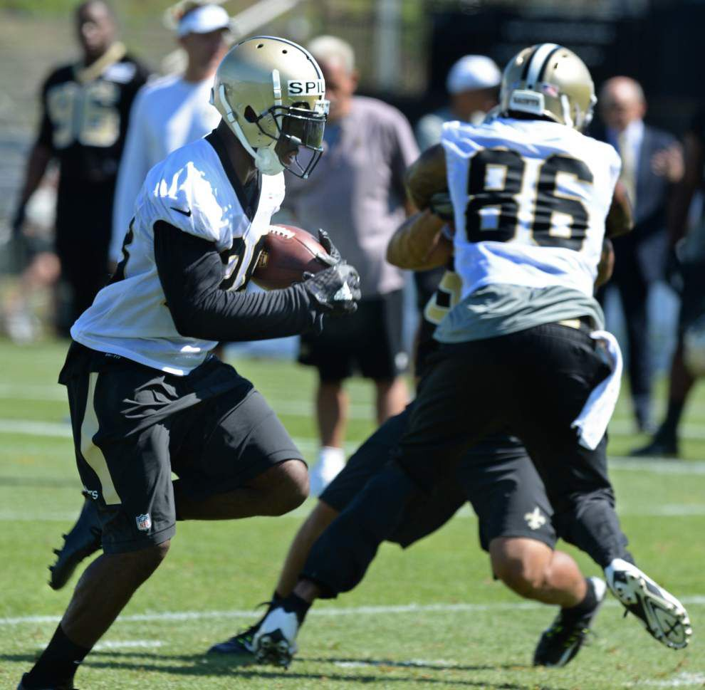 Photos: Saints focusing on finding right mix of players at preseason camp _lowres