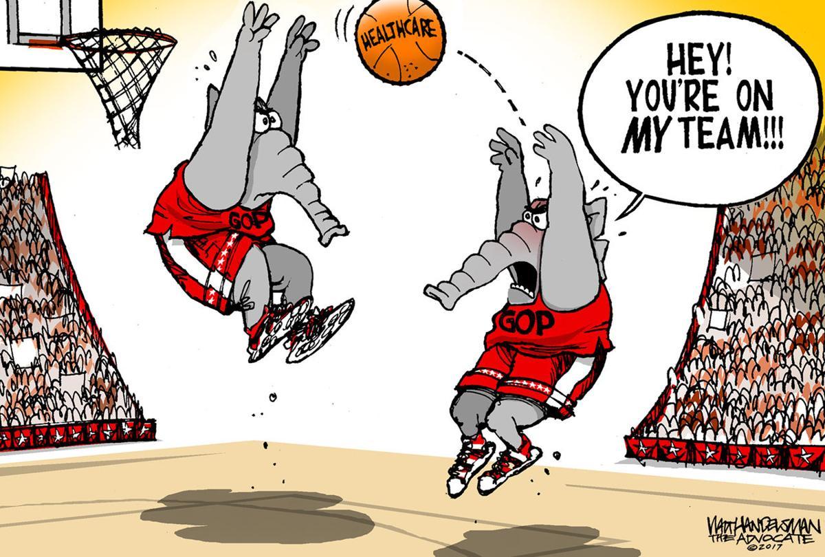 Walt Handelsman: Hoops