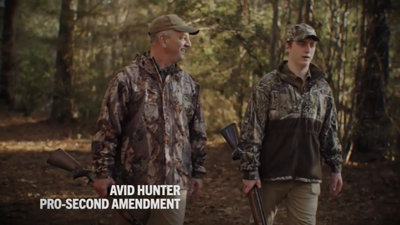 John Bel Edwards hunter ad