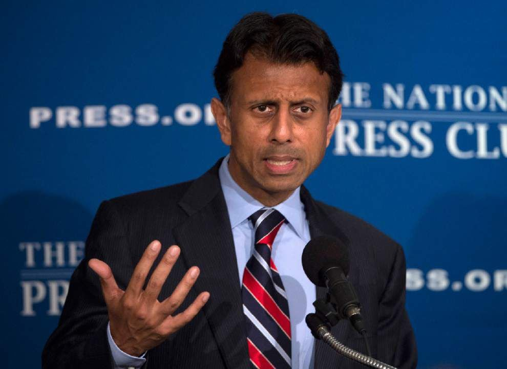 Stephanie Grace: For all his claims about Donald Trump unserious, Bobby Jindal not exactly coming off as serious either _lowres